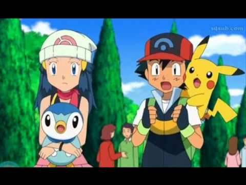 Pokemon DP : Memory of Satoshi ( Ash ) and Hikari ( Dawn )