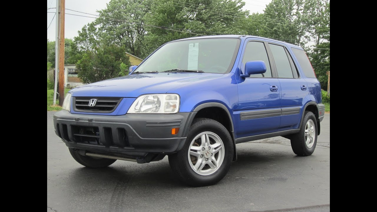 2001 honda crv ex 4x4 electric blue sold youtube. Black Bedroom Furniture Sets. Home Design Ideas
