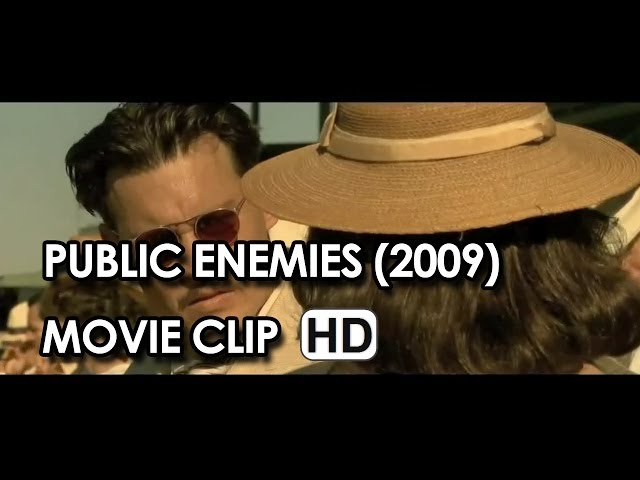 "Johnny Depp in ""I Ain't Goin' Nowhere"" Clip from Public Enemies (2009) HD"