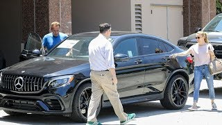 EXCLUSIVE - Arnold Schwarzenegger Pushes His Recovery With Car Shopping Stress Test