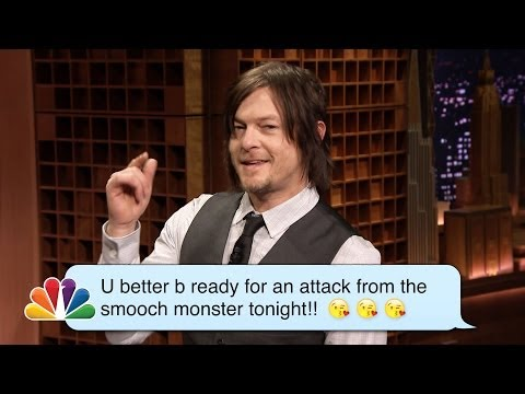 Norman Reedus Reads Romantic Texts