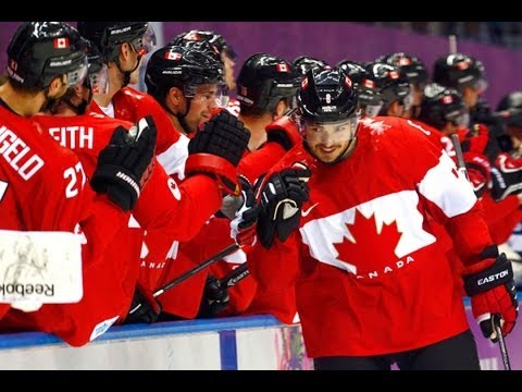 Canada Beats Finland 2-1 In Mens Hockey - Sochi Winter Olympics 2014