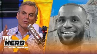 Colin Cowherd believes Steph Curry is not on the NBA Mt. Rushmore   NBA   THE HERD