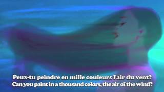 Colors Of The Wind (French) Subs & Translation
