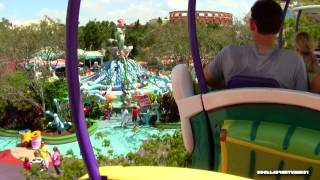 POV High In The Sky Seuss Trolley Train Ride Dr. Seuss