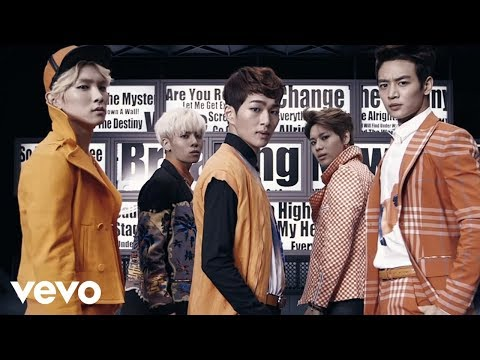 SHINee - 「Breaking News」Music Video (full ver.)