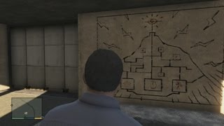 Grand Theft Auto V Easter Egg Writing On The Wall