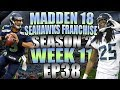Seattle Seahawks Madden 18 Franchise S2W11 WILD GAME FOR FIRST PLACE EP 38