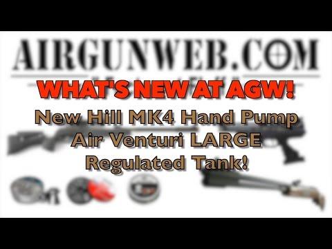 New PCP fill options for 2015 - MK4 Hill Pump / Air Venturi 74 CF Regulated Tank
