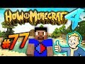 FALLOUT THEMED DUNGEON HOW TO MINECRAFT S4 77