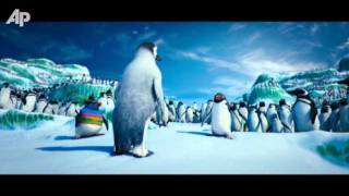 Happy Thanksgiving from 'Happy Feet'