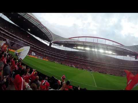 Benfica 2 - 0 Olhanense (Segundo golo Lima) (20 Abril 2014)