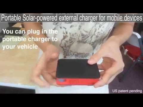 Solar Charge Battery Video Converted