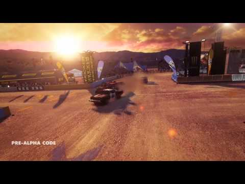 Dirt: Showdown exclusive gameplay - 8-Ball track