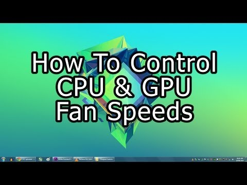 How To Control CPU & GPU Fan Speeds