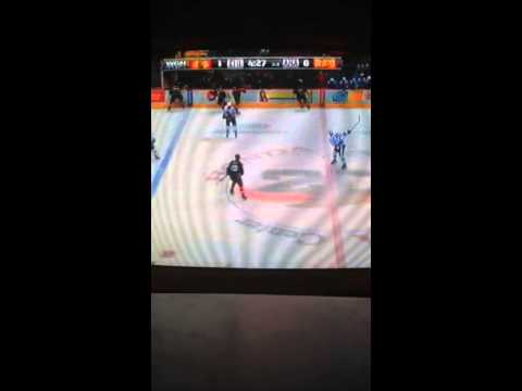Chicago Blackhawks vs Anaheim Ducks 2/5/2014 part 7