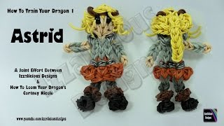 Rainbow Loom Astrid From How To Train Your Dragon 1