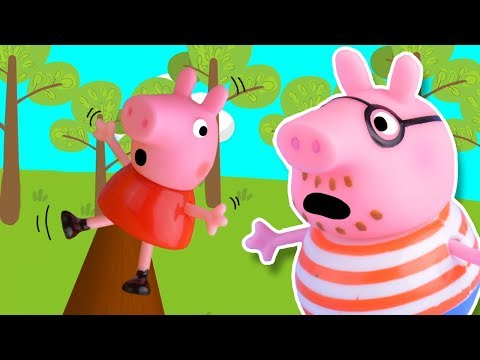 FUNNY GAME for Piggy Family Obstacle Course! Kids Cartoon | Moral Stories for Kids