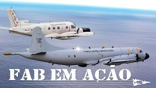 A FAB comemora no dia 22 de maio o Dia da Aviação de Patrulha. E neste FAB em Ação você vai ficar sabendo como as aeronaves P-3 Orion e P-95 Bandeirulha são empregadas para defender a soberania e salvar vidas.