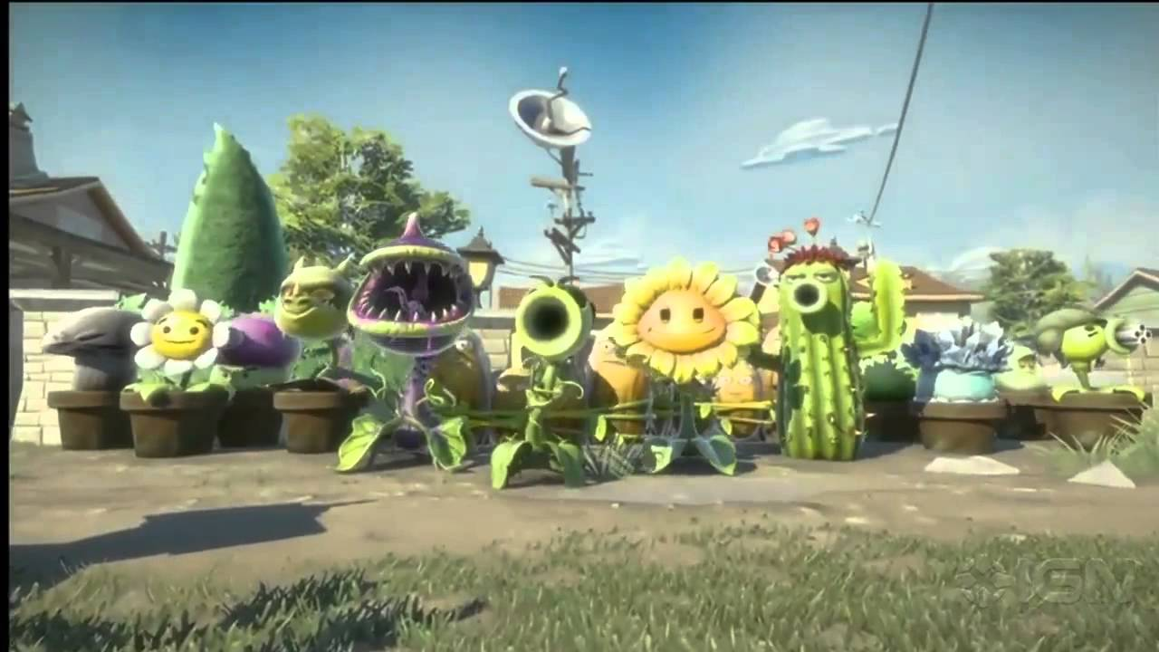 Plants Vs Zombies Garden Warfare Teaser Trailer E3