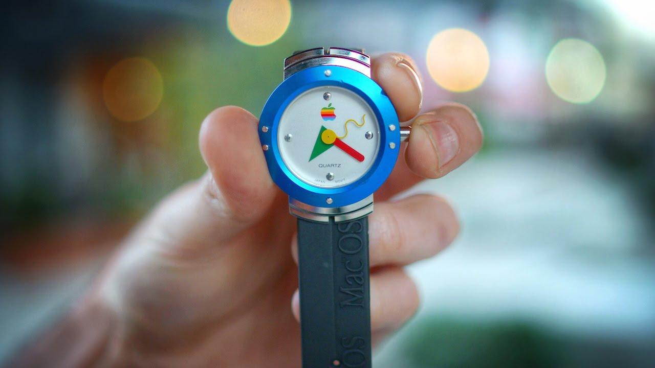 Už jste viděli první Apple Watch z roku 1995? (Video)