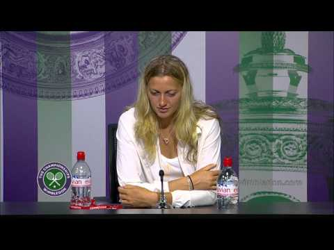 Petra Kvitova 'it is very special' - Wimbledon 2014