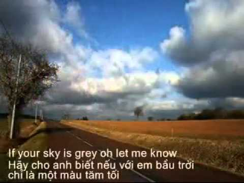 Cry on my shoulder (tiếng anh+lời dịch)