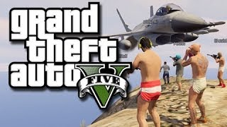 GTA 5 Online Funny Moments! - Mountaintop Fun! (GTA 5 Online Stunts!) KYR SP33DY