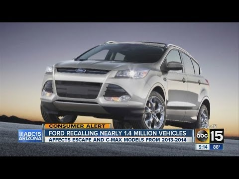 Ford recalls 1.4 million vehicles due to airbag issue