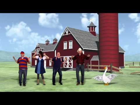 Silly Goose – Funny Children's Music Video