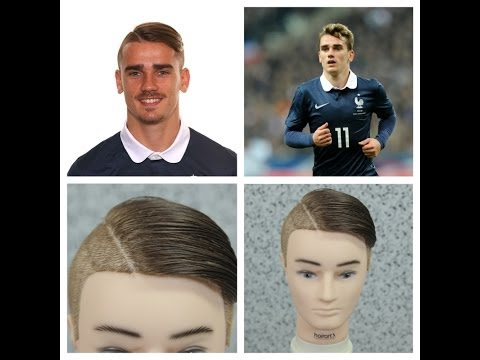 Antoine Griezmann Haircut - World Cup Haircuts