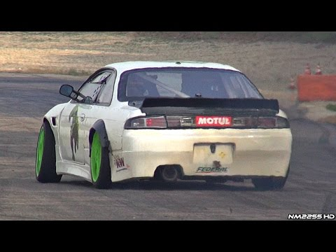 BRUTAL 600HP LS3 V8 Powered Nissan Silvia S14 Engine Swap!!