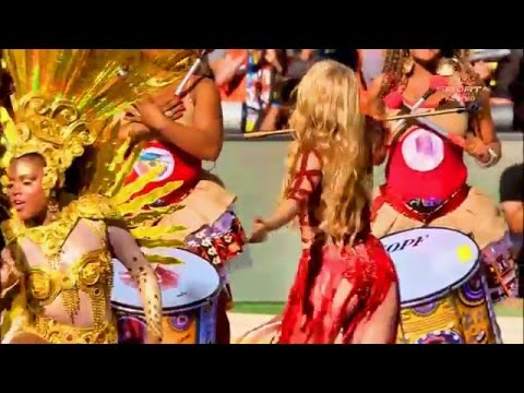 Shakira -  La La La- Full HD Live Closing Ceremony Fifa Brasil 2014