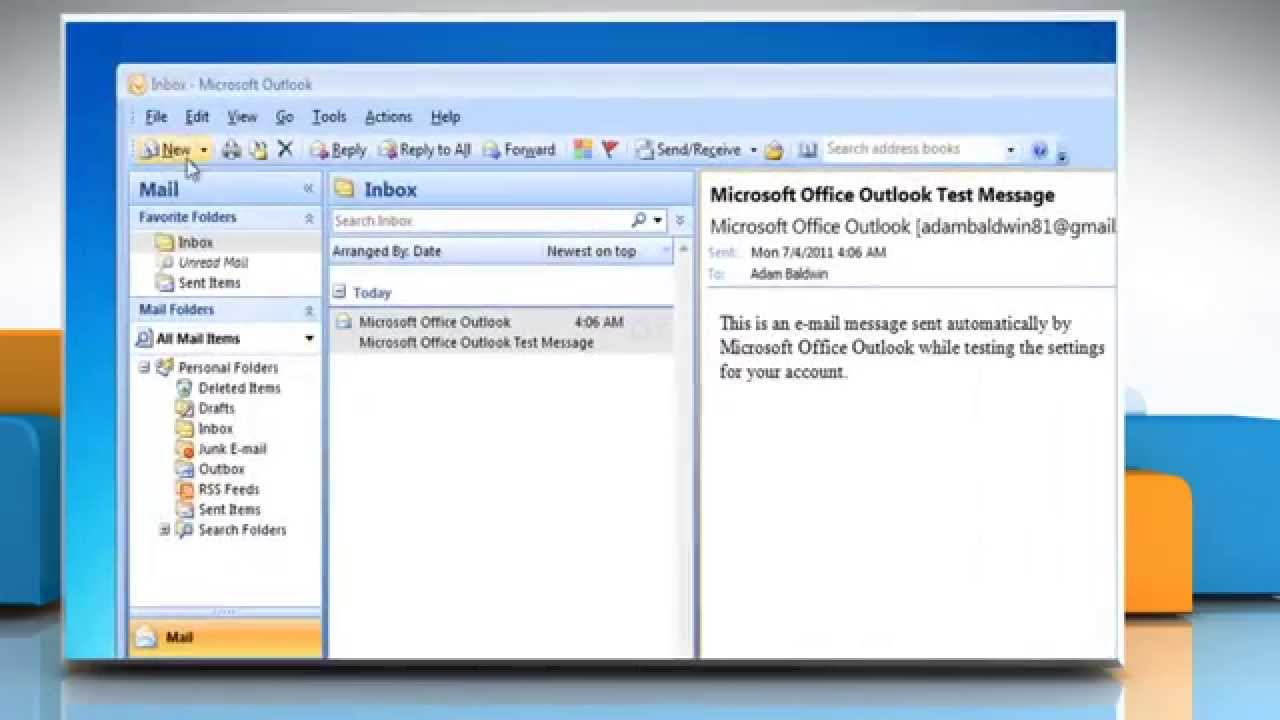 how to find outlook data files in windows 7