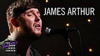 "JAMES ARTHUR  LIVE ""Say You Won;t Let Go"" LIVE MUSIC PERFORMANCE On JAMES CORDEN SHOW 4th Jan TODAY"