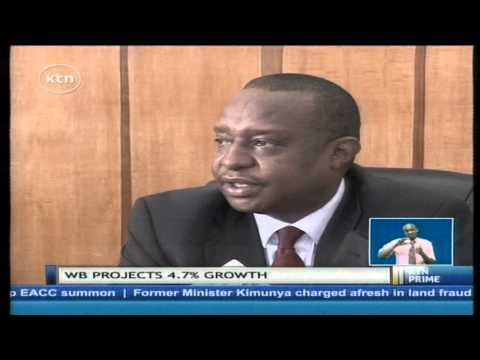 Economy grows by 4.7% way off target set by Jubilee government