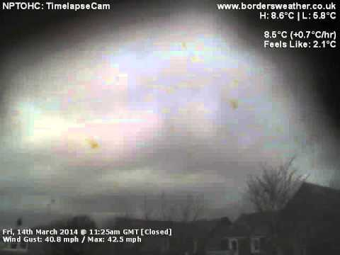 Timelapse: Fri, 14th Mar 2014