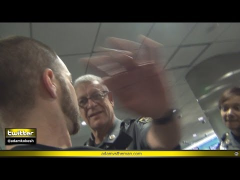 Baltimore TSA & Airport Police assault journalist for filming at checkpoint