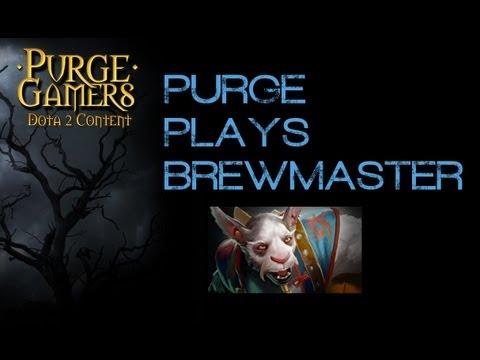 Dota 2 Purge plays Brewmaster gg.net inhouse