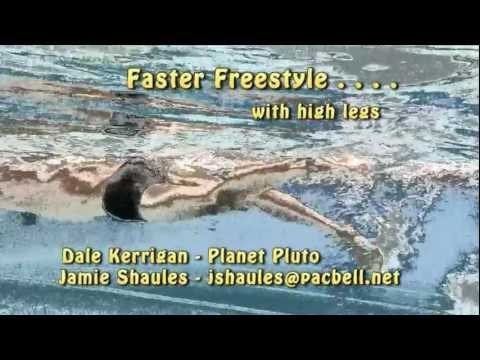 How to Swim Faster Freestyle. . . with High Legs and Low Drag