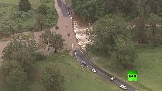 الأمطار الغزيرة تغرق أستراليا بعد أشهر