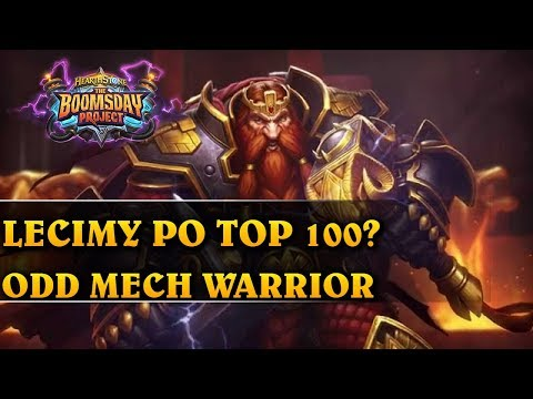 LECIMY PO TOP100 - ODD MECH WARRIOR - Hearthstone Decks std (The Boomsday Project)