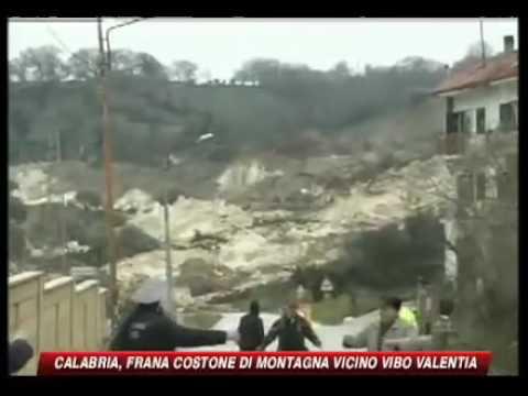 La frana di Maierato (Vibo Valentia Calabria)