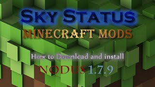 How To Download And Install Nodus 1.7.10