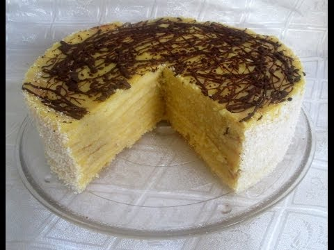 Receta: Torta Panqueque Naranja (Bizcocho Relleno) - Silvana Cocina Y Manualidades