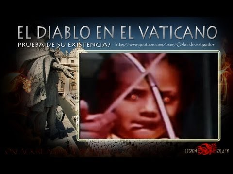 La Verdad del Diablo junto al Papa en el Vaticano  sigueme @OxlackCastro