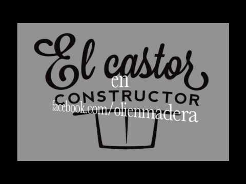 El Castor Constuctor   Video divertido stop motion retro