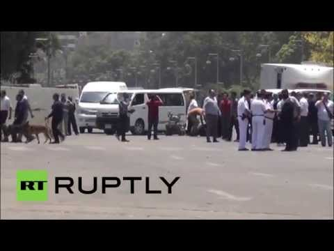 Egypt: Cairo blasts kill two police officers on protest anniversary