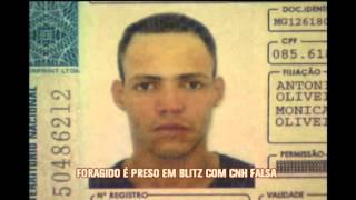 Foragido � preso em blitz com carteira de habilita��o falsa