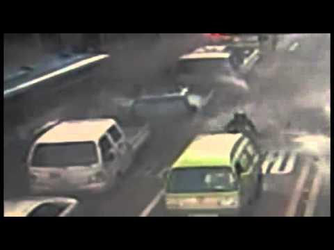 Accident în Seoul explozia unui autobuz cu gaz metan
